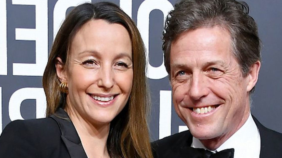 Hugh Grant ties Knot with longtime girlfriend Anna Eberstein in London
