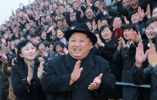 Three days with the North Koreans: awkward glances and a scant smile