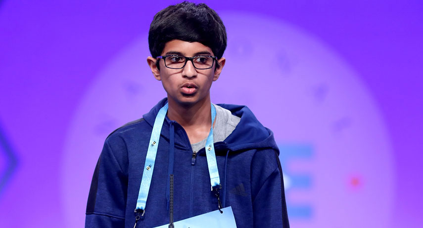 Champion crowned at Scripps National Spelling Bee from record-breaking field