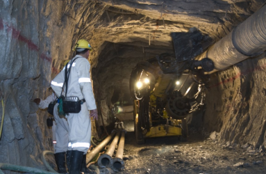First new all-electric mine dumps diesel; cuts costs, pollution