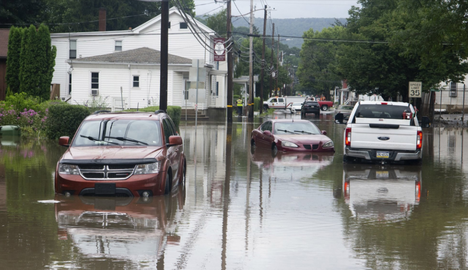 Millions in middle and Northeast Atlantic probably facing floods