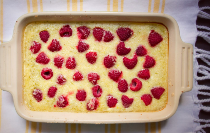 Tamal Ray's recipe for raspberry and lime bars