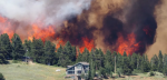 Wildfires rage in Colorado as weather conditions deteriorate