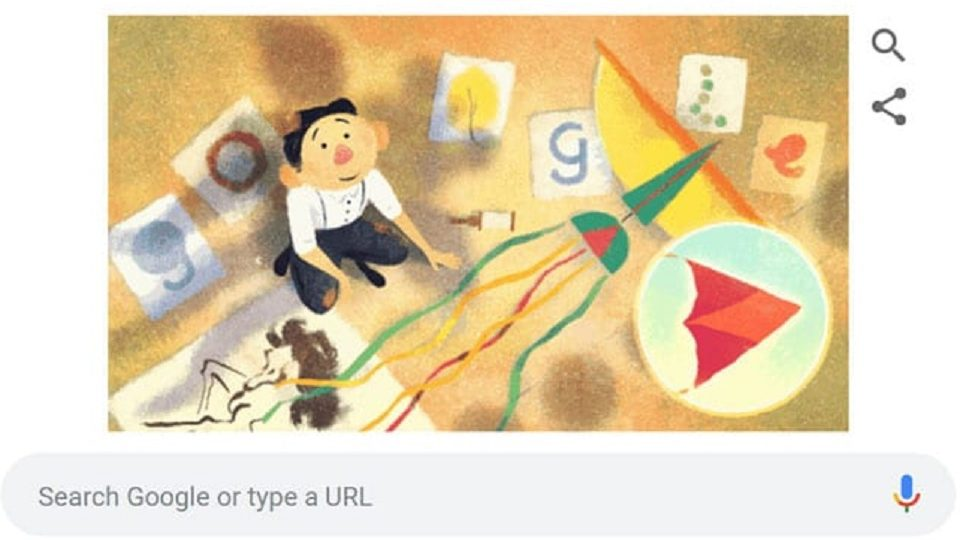 Asian- American Artist Tyrus Wong Birthday Celebrated By Google Doodle