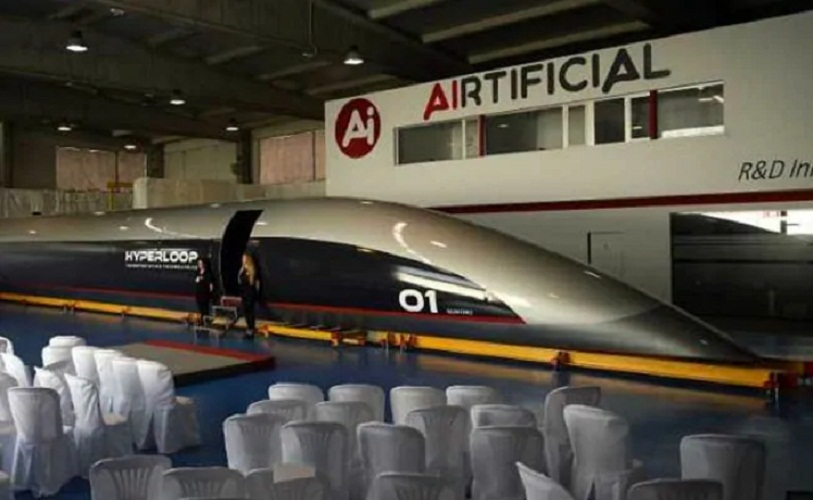 Hyperloop TT unveils world's first full-scale passenger Capsule in Spain   US.tnbclive.com