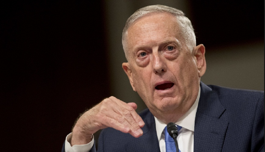 Jim Mattis told Arab Forum, US cannot be replaced in Russia in Middle East