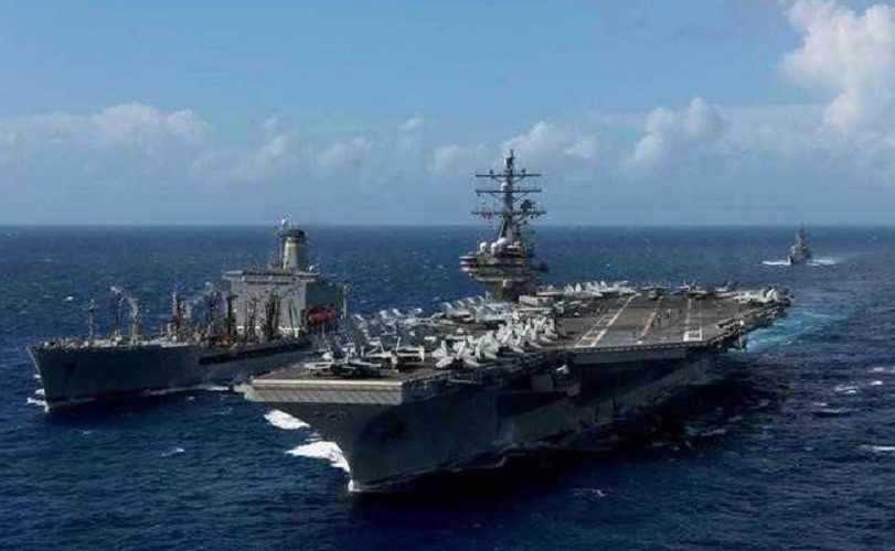 US Battleship Casts Around South China Sea Territory Claimed by China