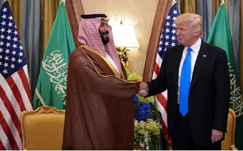 """Trump Tweets """"Thank You To Saudi Arabia"""" For Celebrating Low Oil Prices"""