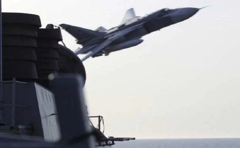 """US Aircraft interrupted by Russian fighter, Pentagon claims came """"very close"""""""