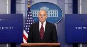 """Departing White House Chief Says, """" Nothing But Compassion,For Migrants"""""""