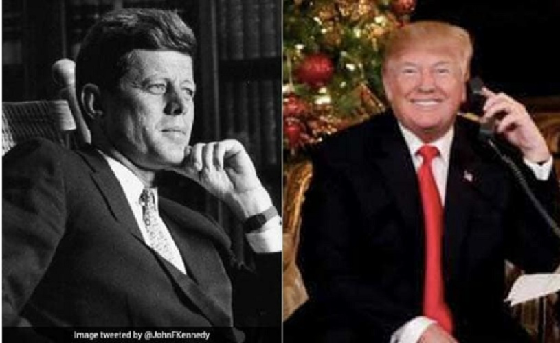 Trump's Response on Santa Claus Compared With Kennedy in Social Media
