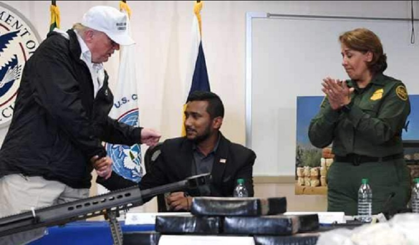 Killed Indian Origin Security Cop's Brother Supports Trump's Crucial Move Based on Border Security
