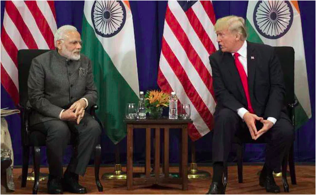 """""""Don't Know Who is Using It """" Trump's Taunt to PM Modi For Afgan Library"""