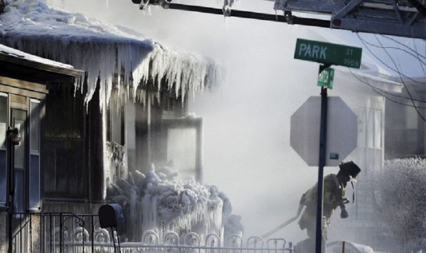 Deadly Arctic Boom Push US Midwest to the Grip of Extreme Frosty Weather