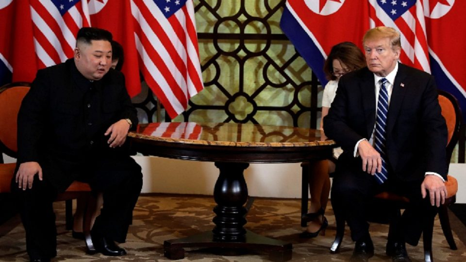 """President Donald Trump's statement on North Korean counterpart Kim Jong-un, """"we just like each other"""""""