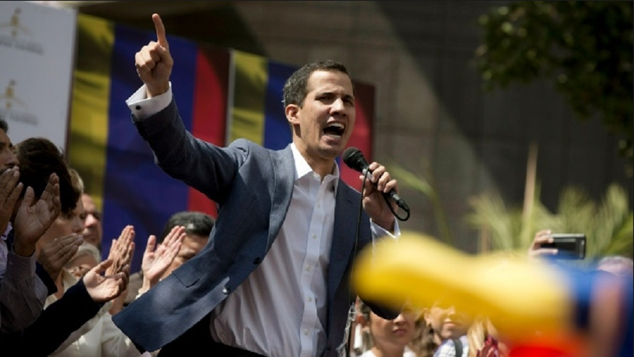 Self-declared Venezuelan President Juan Guaido Claims Hostile Actions Against Family  By Police