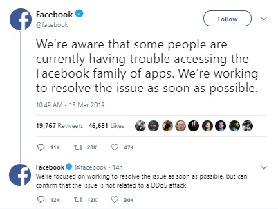 Across the Globe, Facebook and Instagram Down For Many Users | tnbclive.in