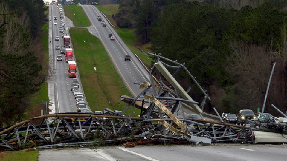 Death Toll Rises to 22 in Alabama As Tornado Hits Badly