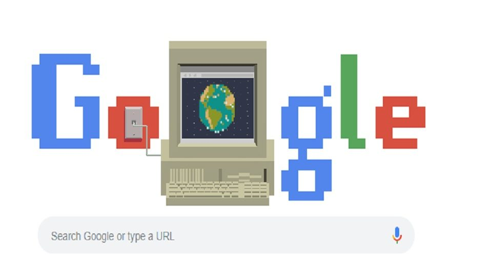 Google celebrates 30th Birthday of World Wide Web with a Doodle