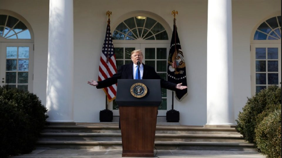 US President Ask Congress To Include 8.6 Billion For Border Wall In Budget