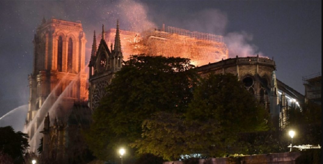 Fact-Checking Tool Sees Shadow Of 9/11 Tragedy In Flaming Notre-Dame
