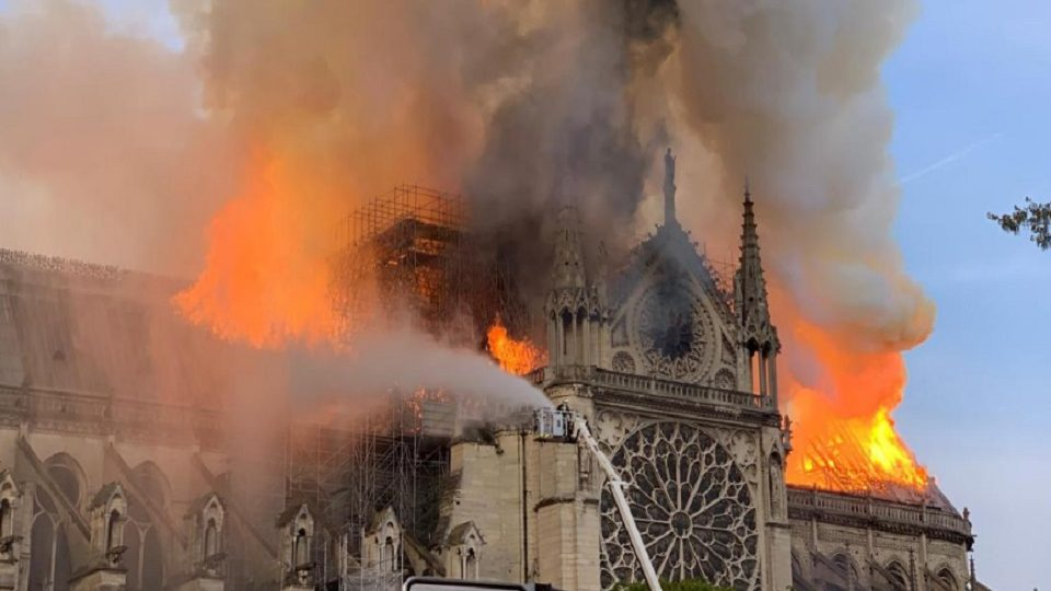 """Fire Chief Claimed, """"Everything Would Have Collapsed"""" On US President's Notre Dame Advice"""