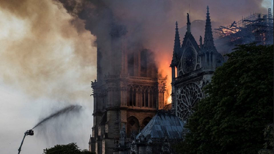 French Civil Defense Body Suggests Trump's Flying Tankers For Notre Dame