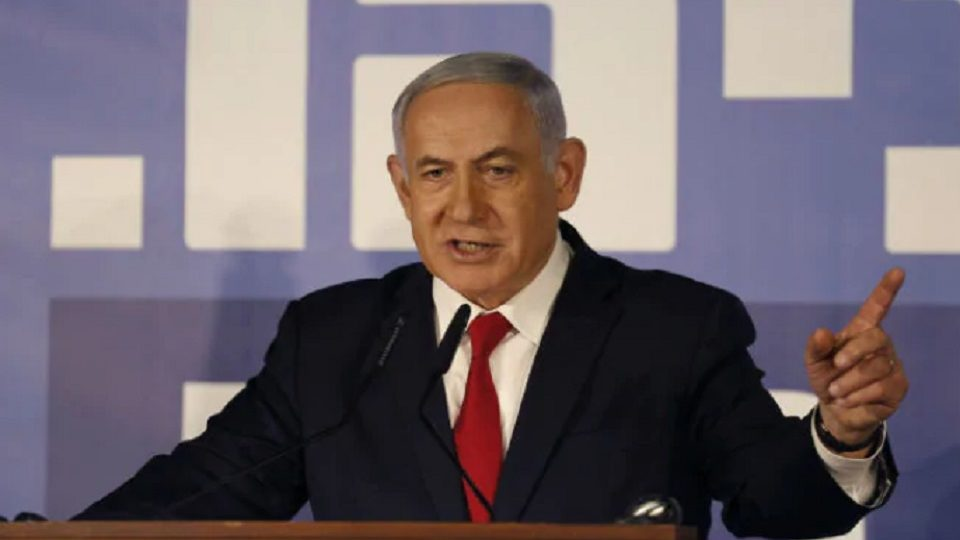 """Israel would not move """"even one person"""" from a settlement said Benjamin Netanyahu"""