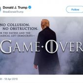 Victorious US President Dramatically Tweeted On Mueller Report D-Day