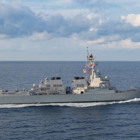 Amid Trade Tensions, United States Warship Sails in South China Sea