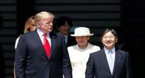 Donald Trump Leaves Japan After Meeting New Emperor Naruhito