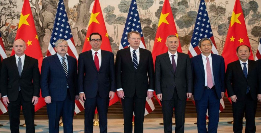 "The US, China Meet Through ""Productive"" Trade Discussions In Beijing"