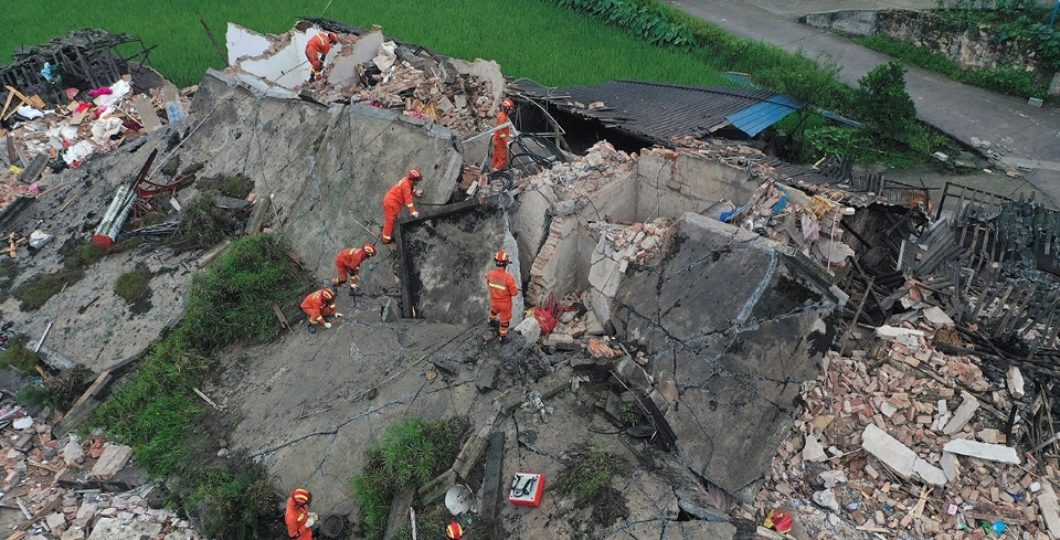 Earthquake In South-West China Killed 12, Injured 134
