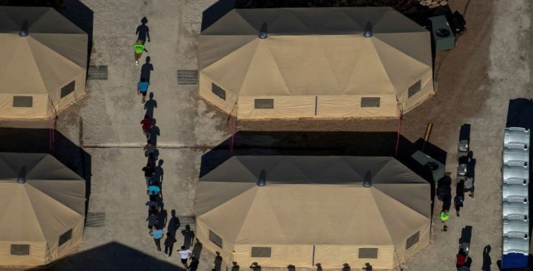From Overcrowded Border Station, US Relocates Hundreds Of Migrant Children