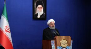 "Iran President To United States Claims, ""Return To Normal State"" Before Offered To Talk"