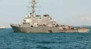 Near China, US Warship Collided With Russian Vessel
