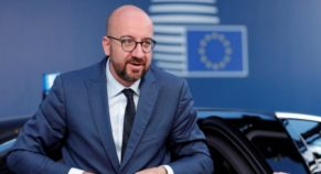 Belgium Prime Minister Charles Michel Names As EU Council Chief
