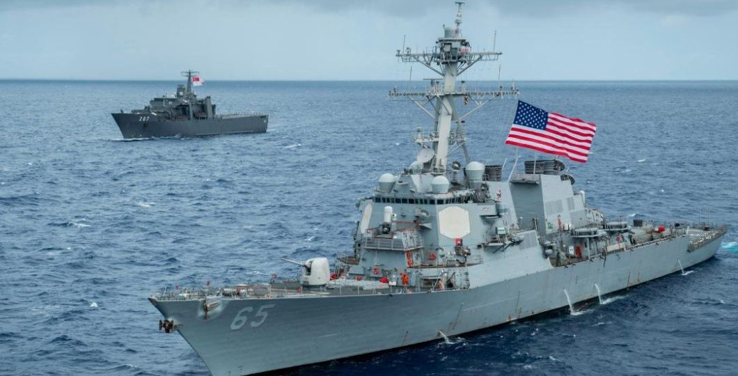 Tension Mounted Between US and China As US Navy Sailed Through Taiwan Strait