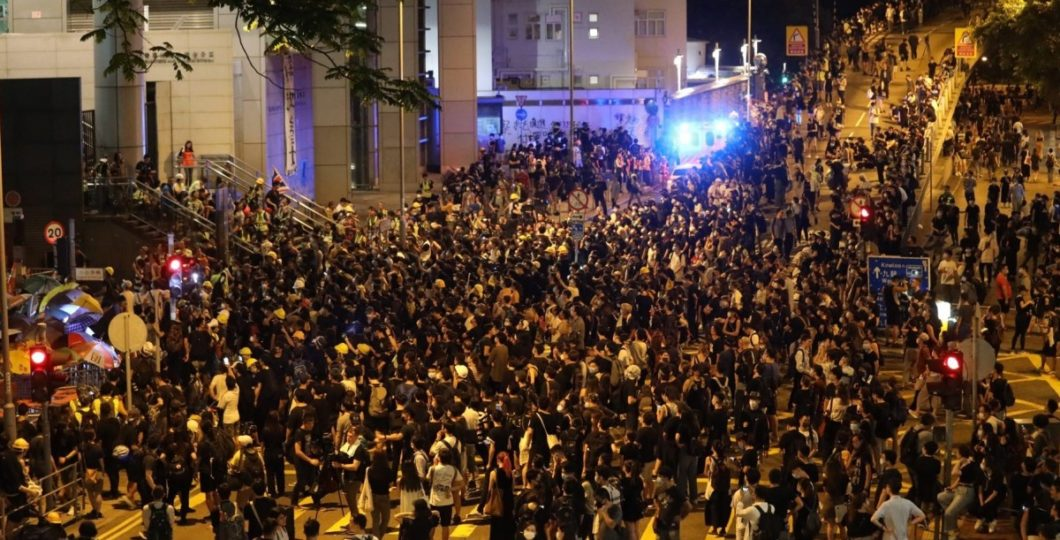 Over 100 Flights Suspended In Hong Kong Amid Protests