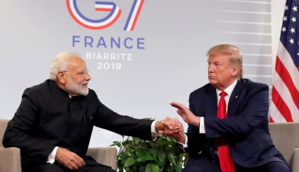 """PM Modi """"Feels He Has It Under Control,"""" Says President Trump Over Kashmir Issue"""