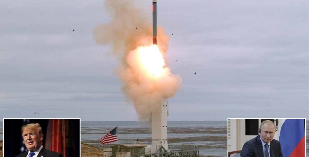 """Russia Claims US Missile Test As """"Escalation Of Military Tensions"""""""