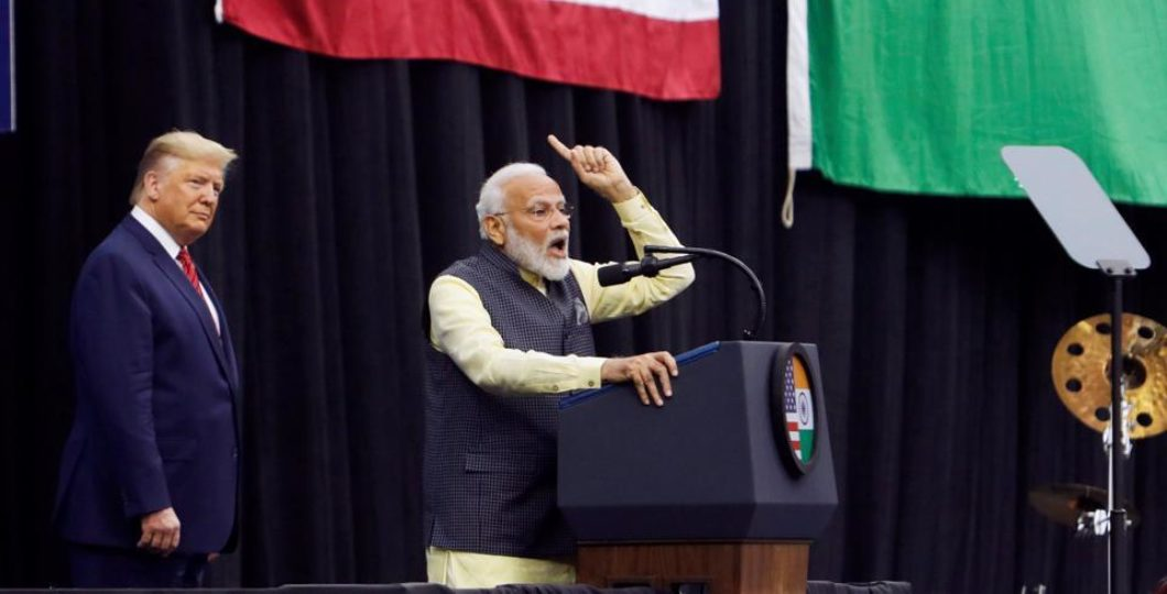 US Media Says Joint Speech Of Trump-Modi Shows Growing US-India Ties