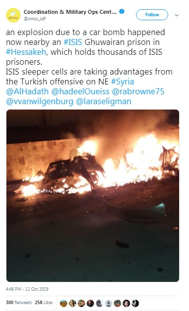 """America Leaves """"High-Value"""" ISIS Detainees Behind In Syria / tnbclive.com"""