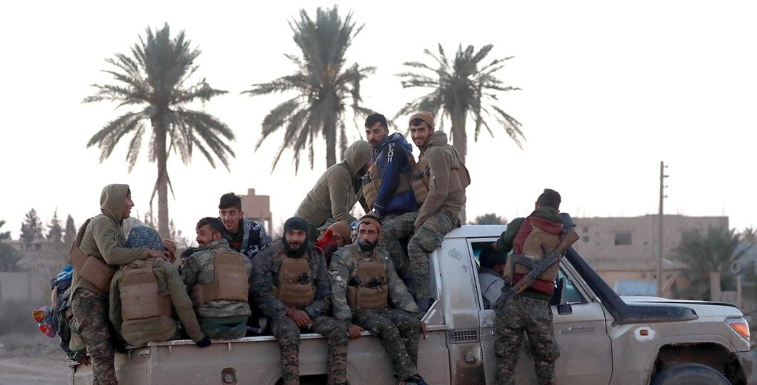 America To Maintain Support For SDF To Fight Against ISIS Militants