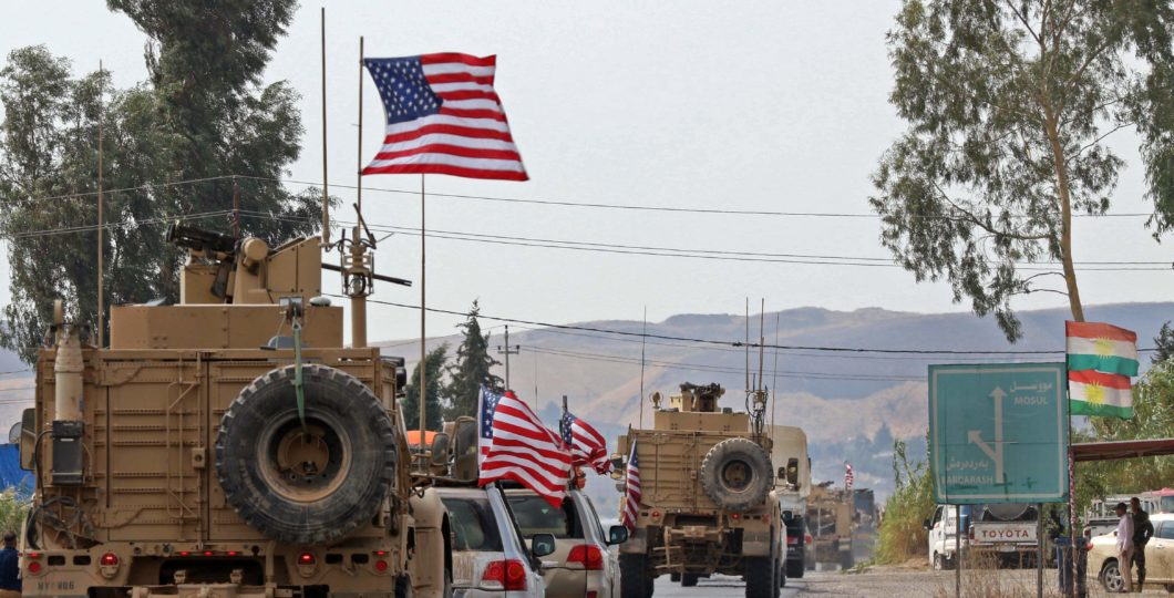 "American Troops Exiting Syria To ""Temporarily"" Reside In Iraq, Report"