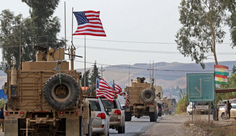 """American Troops Exiting Syria To """"Temporarily"""" Reside In Iraq, Report"""