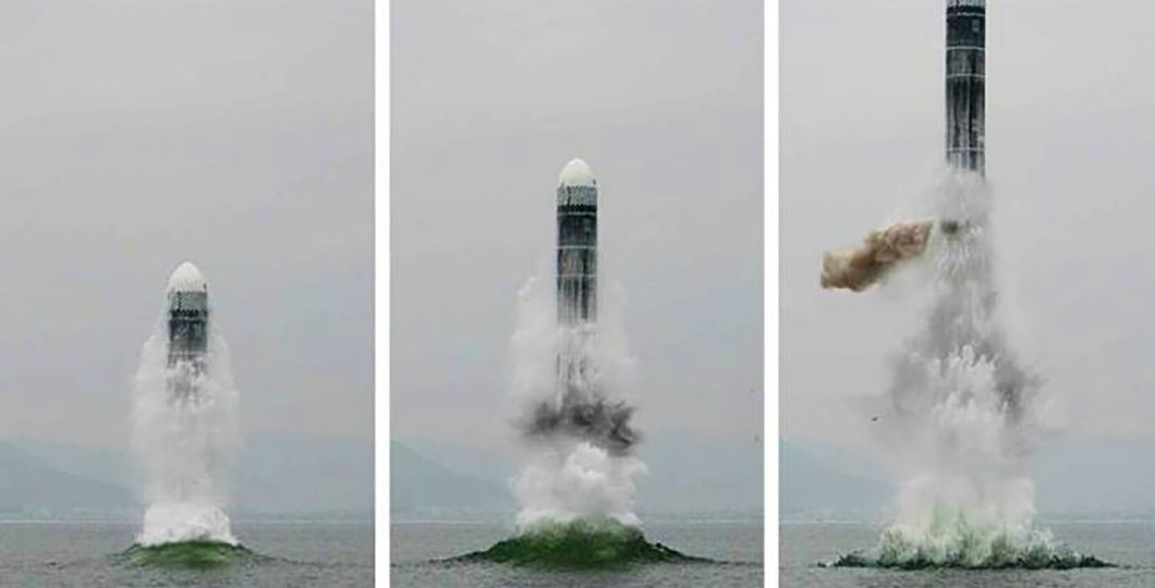 North Korea Test-Fired New Submarine-Launched Ballistic Missile, Source