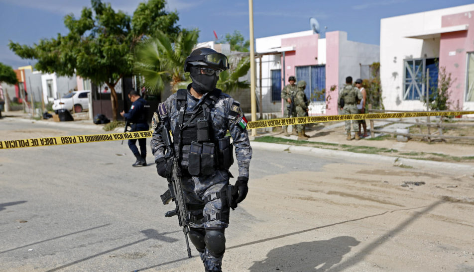 Shootout Resulted Nine Dead In Southern Mexico