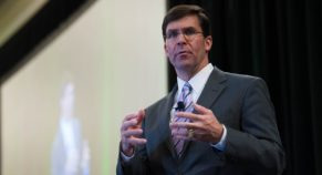 """Turkey """"Heading In Wrong Direction"""" With Incursion Into Northern Syria, Says Mark Esper"""