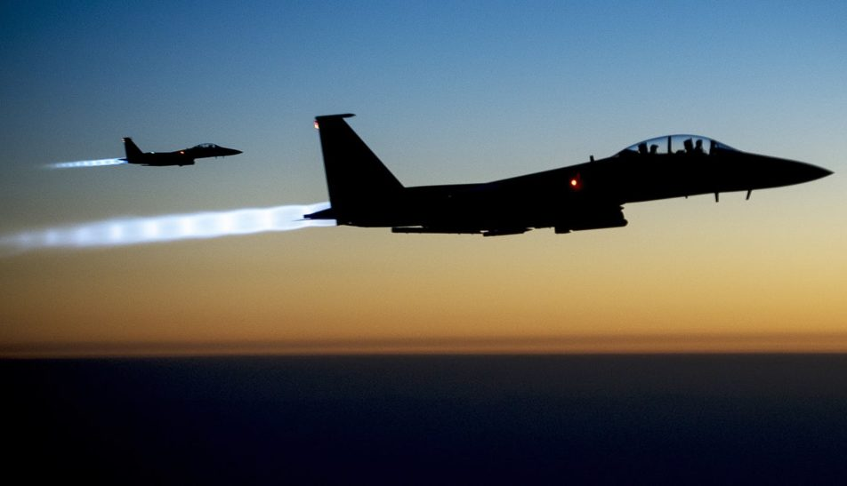 Two American Fighter Jets Conducted Pre-Planned Airstrikes In Northern Syria